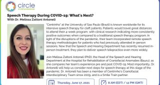 17 Giugno 2021 ore 14 – 15   Speech Therapy During COVID-19: What's Next?